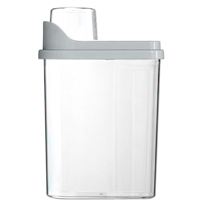 1pc recipiente de armazenamento de alimentos à prova de poeira barril de armazenamento de grãos selado balde para animal de estimação
