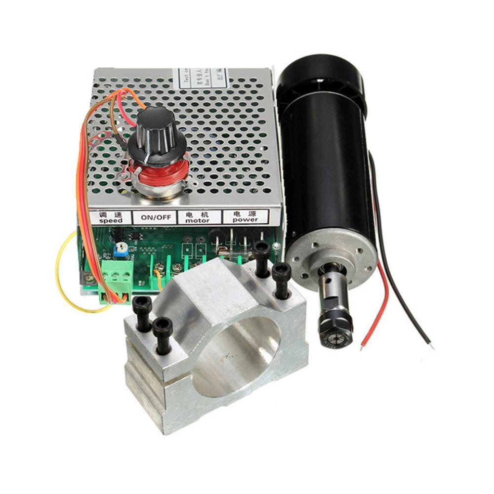 DC 48V Brushless Air Cooled Spindle Motor 500W 12000rpm ER11 Grinding PCB Carving Speed Regulation Hand Drill enlarge