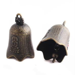 Campanula accessories car linked to Guanyin bronze bell Antique bell potato Zhao Fu jewelry