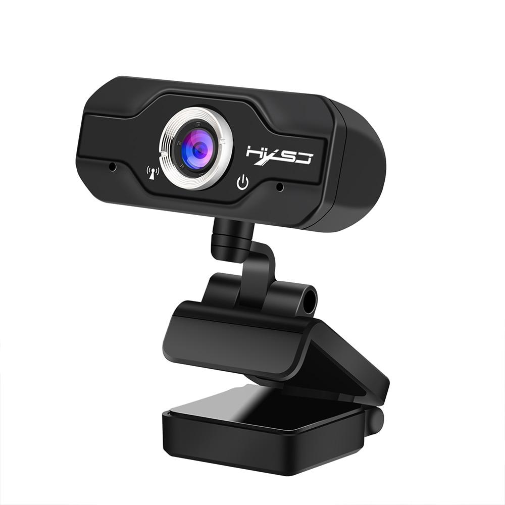 Cámara Web HD 1080P USB Webcam en vivo para Microsoft HP ordenador con micrófono Webcams en línea 1920*1080P