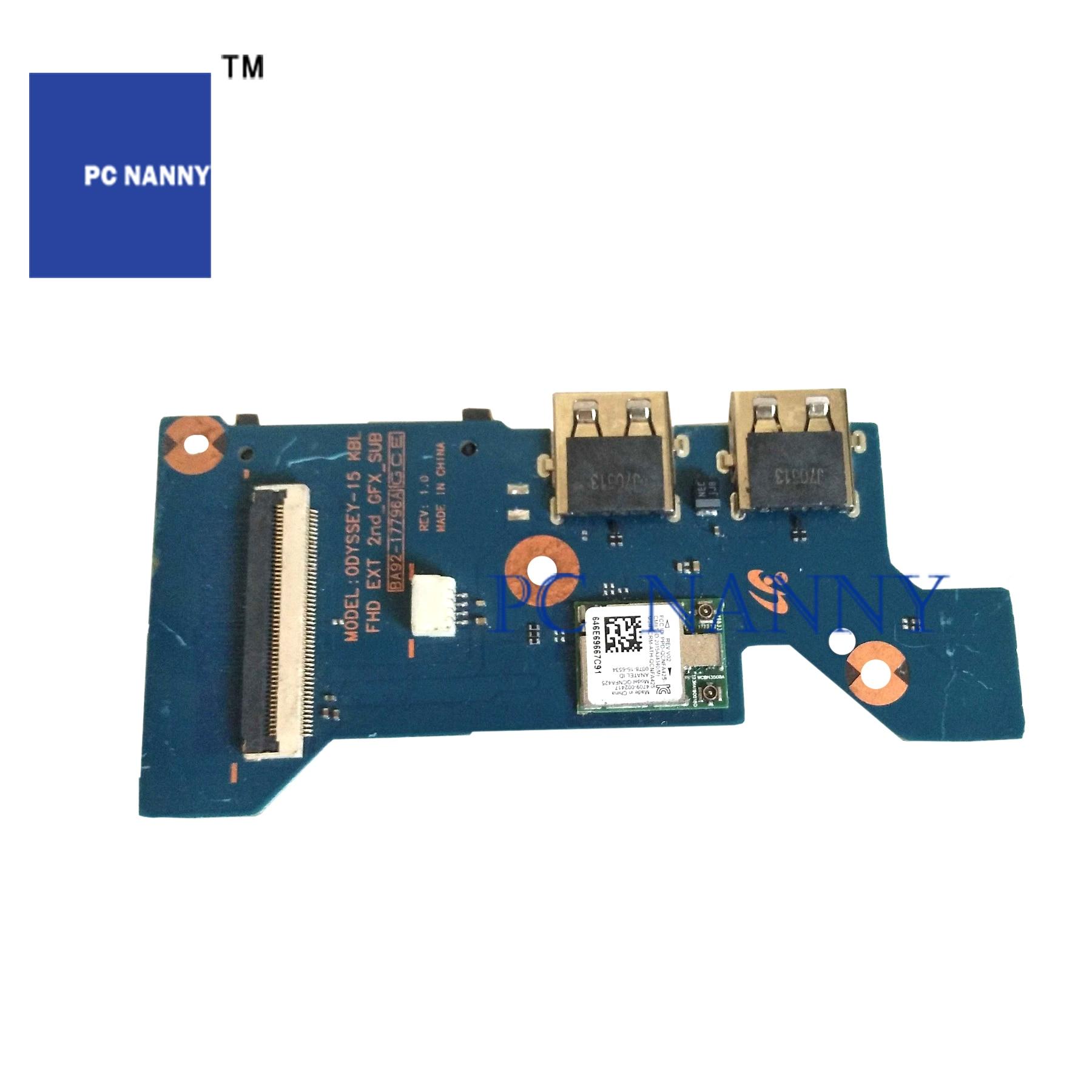PCNANNY لسامسونج NP800G5H 800G5H USB SD الطاقة زر مجلس BA92-17796A اختبار جيدة