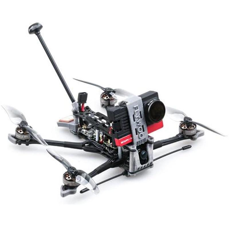 Flywoo Explorer LR 4'' 4S Micro Long Range FPV Racing RC Drone Ultralight Quad w/ F411 Micro Stack RunCam 2 Camera 1404 Motor