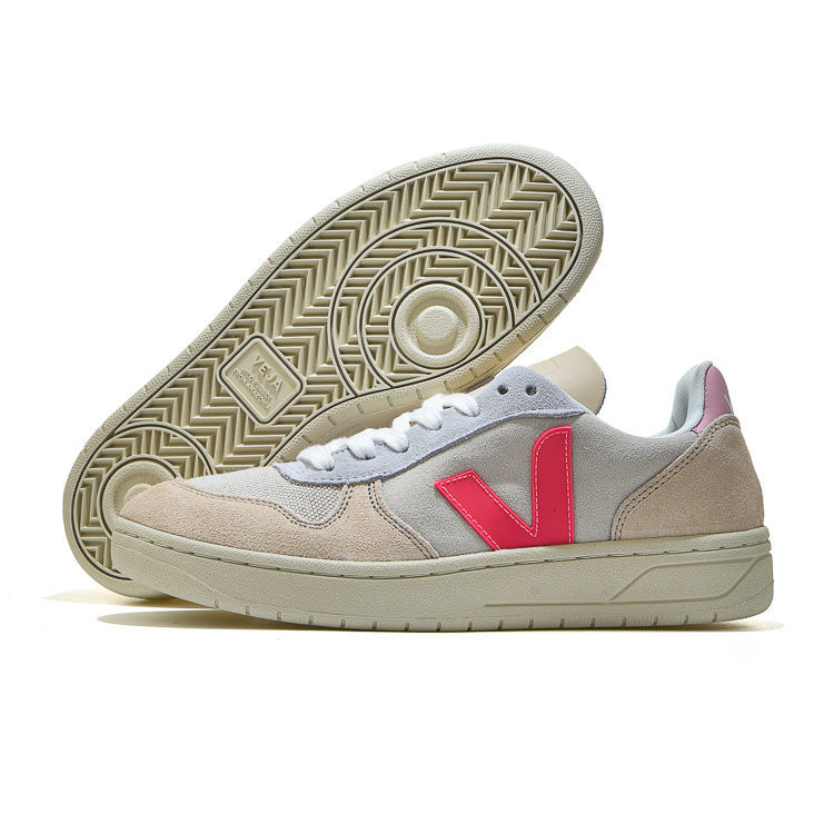 Original Fashion Men Women Running Shoes , VEJA- Top Quality Synthesis Breathable Light Sneakers Sta