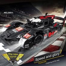 RC Formula гоночная модель автомобиля строительные блоки Совместимые серии Technic DIY набор моделей игрушки мощный мотор функция автомобиля Кирпич...
