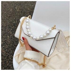 Mini Pearl Design Crossbody Bags for Women 2021 Summer Spring Shoulder Handbags Female Travel Cross Body Bag A084