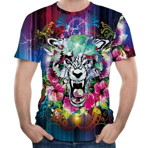 New fashion Men's T-shirt 2019 autumn Casual Stripe O-Neck Casual Slim Short Sleeve 3D Printed Shirt Blouse stripe sweater Z321