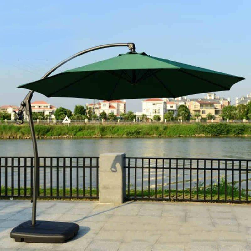 Sombrilla cuadrada para exteriores de Roma, sombrilla impermeable, sombrilla para patio