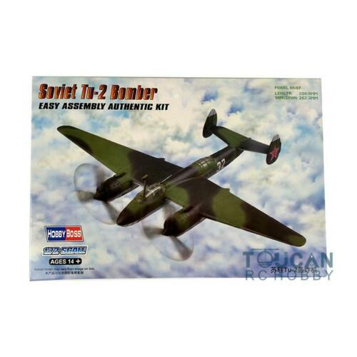 US Stock 1/72 Trumpeter 80298 Aircraft Soviet Tu-2 Bomber Fighter Warcraft Plane Model TH06240-SMT2 artwox trumpeter 05607 u s cv 3 saratoga aircraft carrier wooden deck aw10120