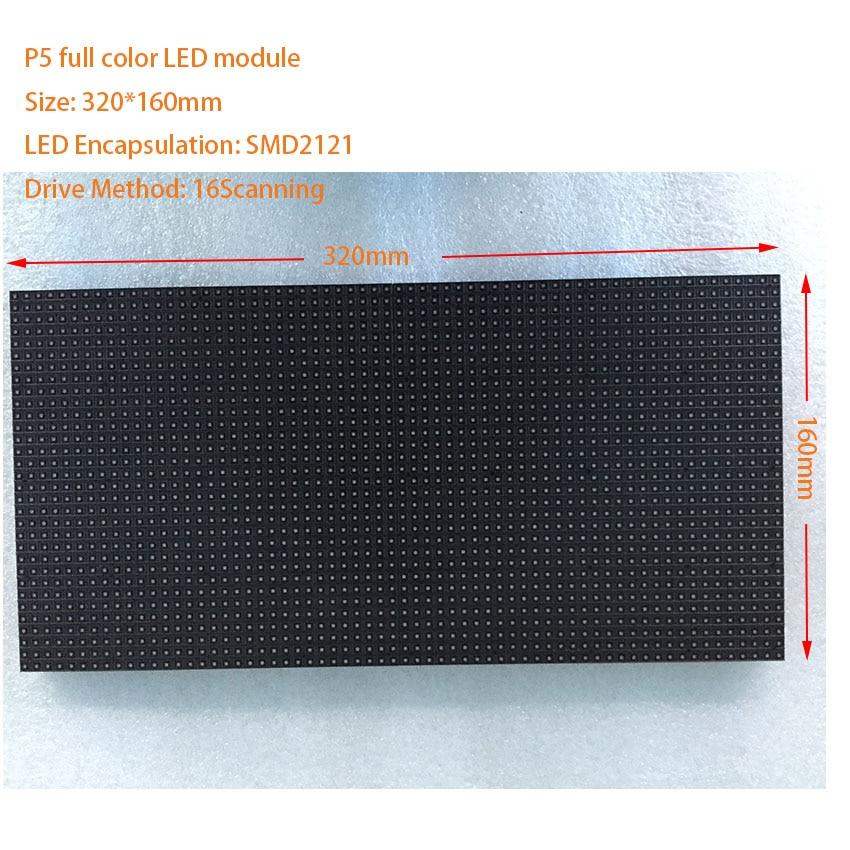 HD tv xxx vídeo LED de Interior para SMD2121 3in1 pantalla LED completa color 320*160mm 64*32 puntos RGB P4 P5 P6 P10 panel led ali express