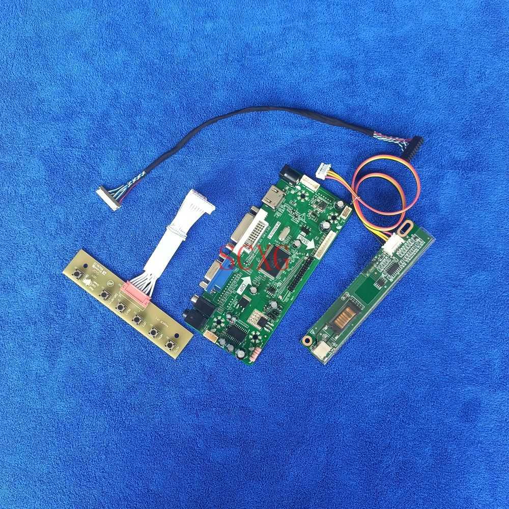 MNT68676 تحكم لوحة للقيادة 1024*768 1CCFL HDMI متوافق DVI VGA 20 دبوس LVDS شاشة الكريستال السائل عدة صالح LP150X04/LP150X1/LP150X2