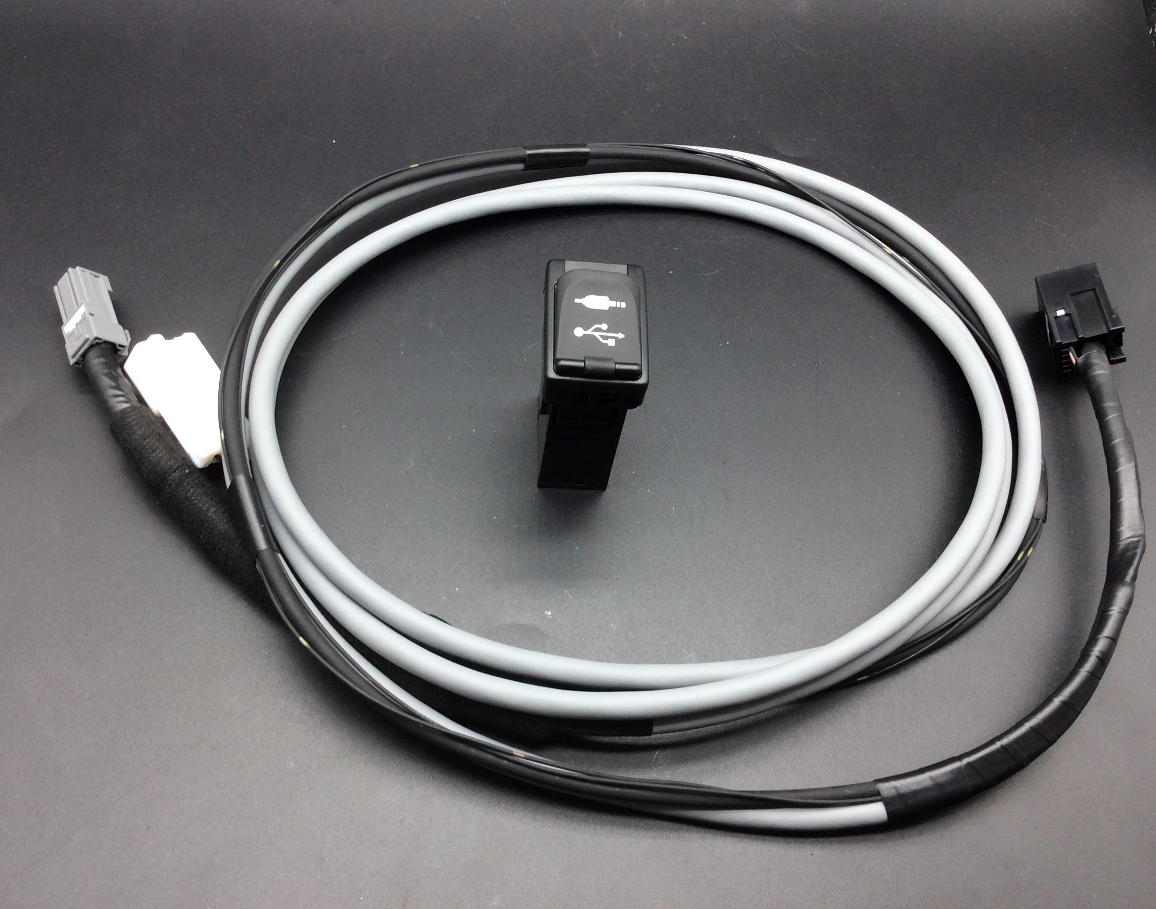 Original for Toyota Prado Land cruise Reiz Levin Corolla Highlander USB Socket cable wire