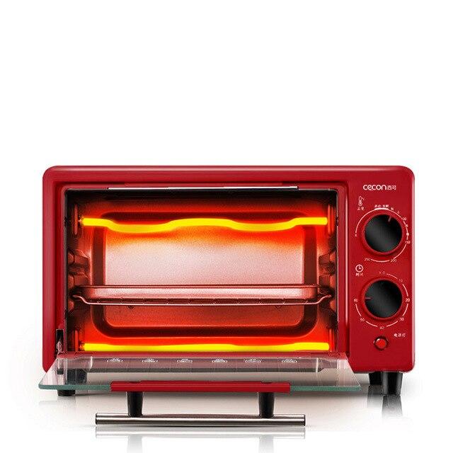 Mini horno 11L eléctrico de latón empotrado horno eléctrico incorporado en electrodomésticos para la cocina