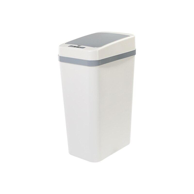 Plastic Smart Waste Bin Automatic Sensor Office Creative Waterproof Trash Can Kitchen Storage Kosz Na Smieci Household Products enlarge