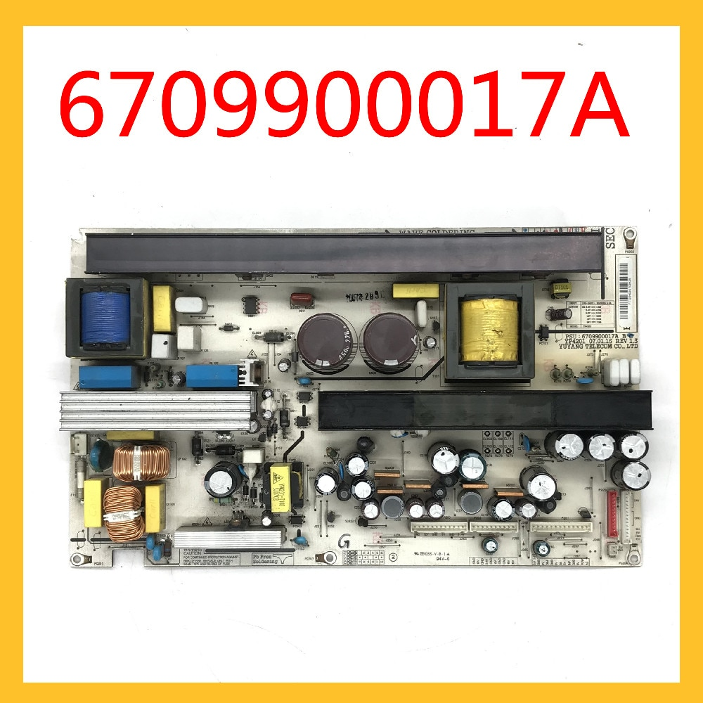 6709900017A YP4201 REV 1.3 الأصلي بطاقة الطاقة امدادات الطاقة المجلس للتلفزيون LG 42LC2R-TH 42LC2RR-CL مجلس الطاقة