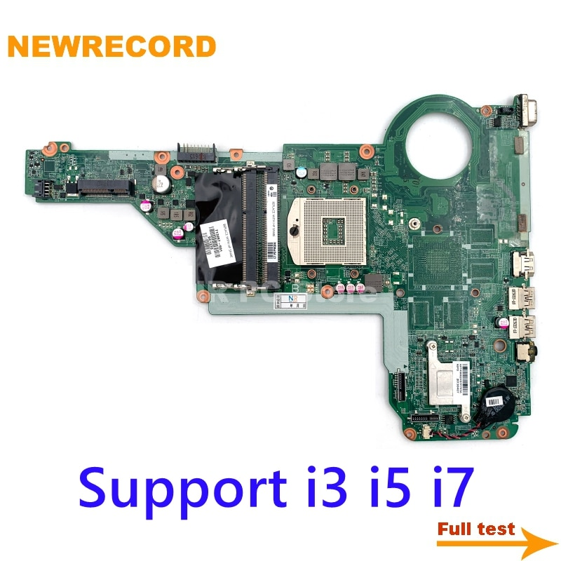 NEWRECORD DA0R62MB6E1 713257-001 713257-501 for HP Pavilion 14-E 15-E 17-E laptop motherboard HD4000 HM76 DDR3 fully tested