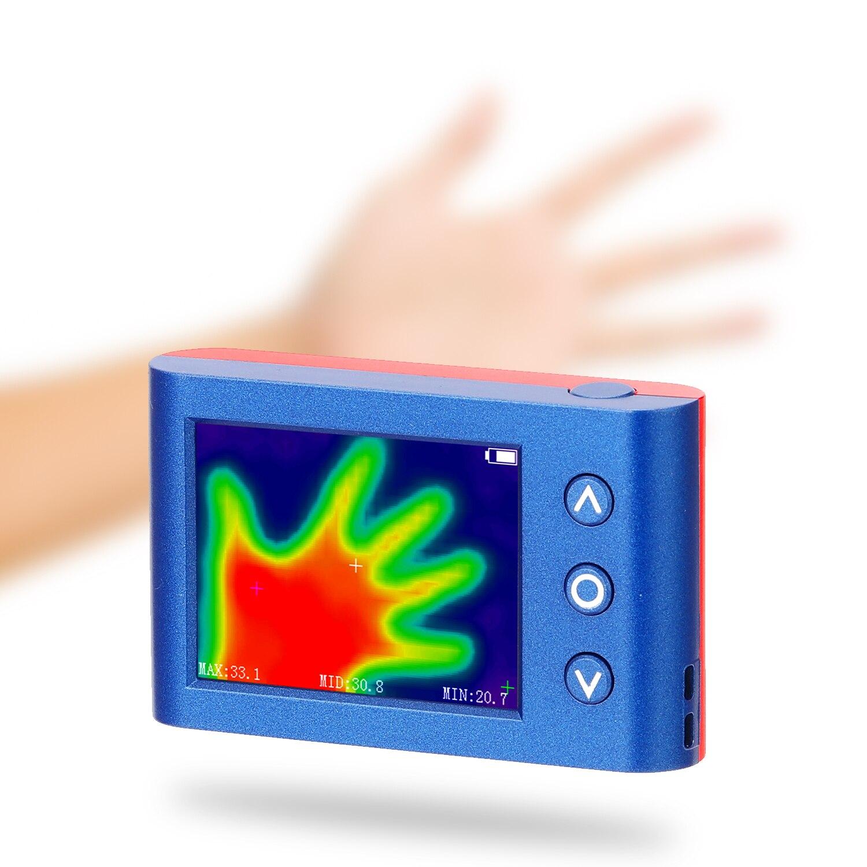 المحمولة المحمولة كاميرا الحرارية درجة حرترة تحت الحمراء الاستشعار الرقمية الأشعة تحت الحمراء الحرارية أداة كشف متعددة الأغراض