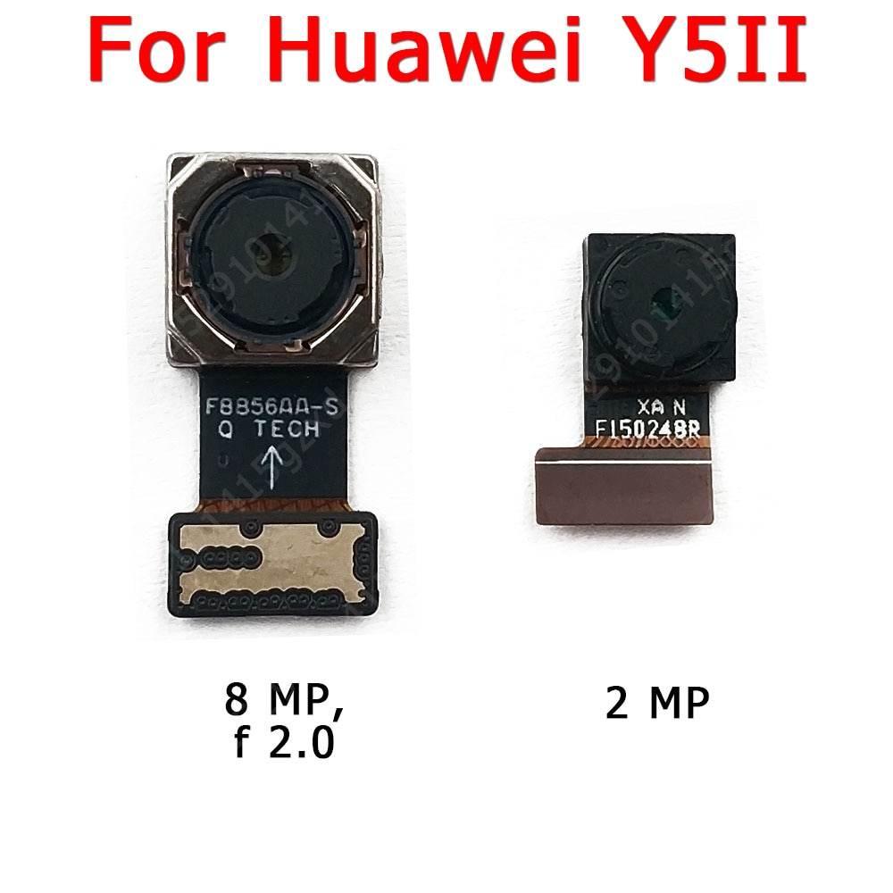 Original Front and Rear Back Camera For Huawei Y5II Y5 2 Main Facing Frontal Selfie Camera Module Fl