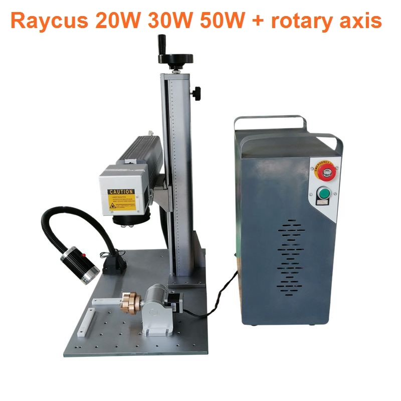 split mini 20W 30W fiber laser marking machine with Raycus laser source and rotary axis the open source openpilot mini cc3d flight control traverse machine qav250 330 uses multi axis four axis equivalent to f3