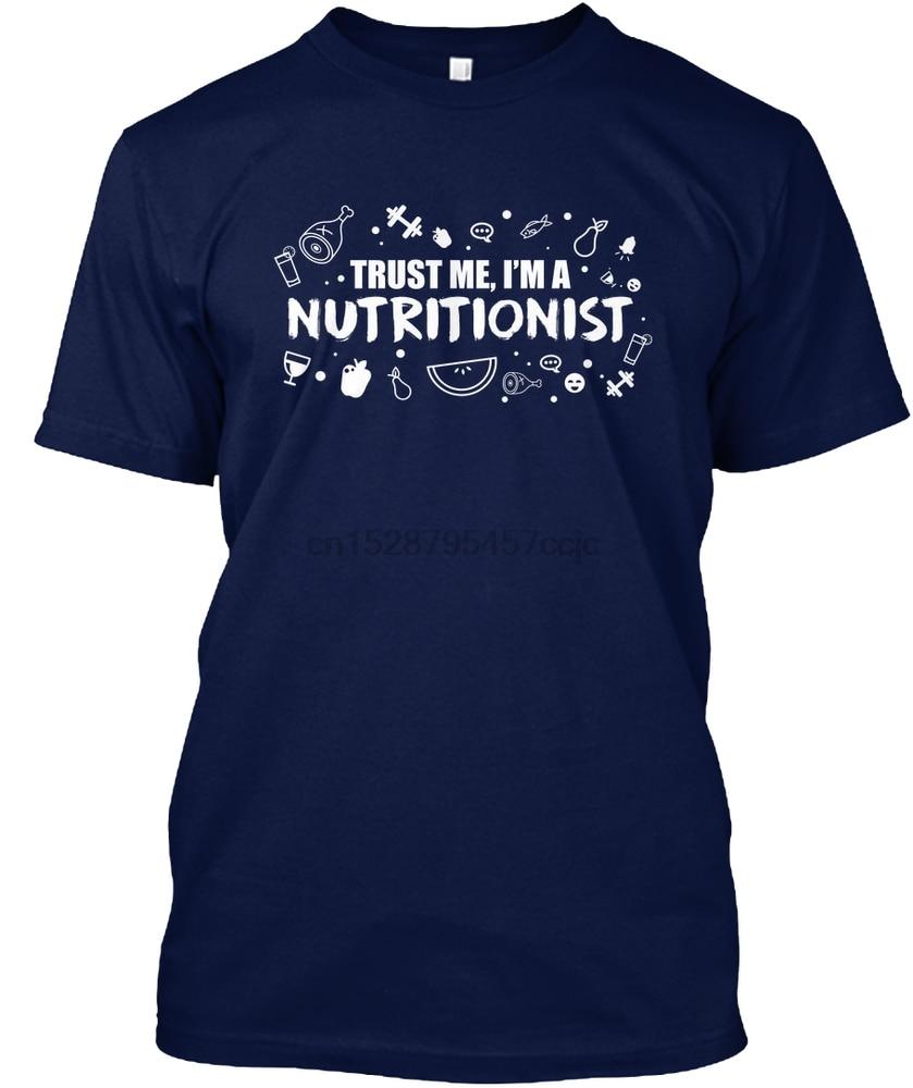 Camiseta de hombre Trust me soy una camiseta de mujer nutricionista