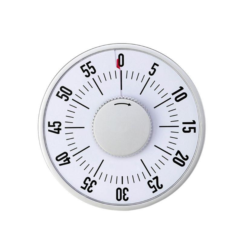 Temporizador visual da contagem regressiva da sala de aula, contagem quieta, ímã duplo, ideal para o trabalho de casa do ensino da sala de aula que cozinha