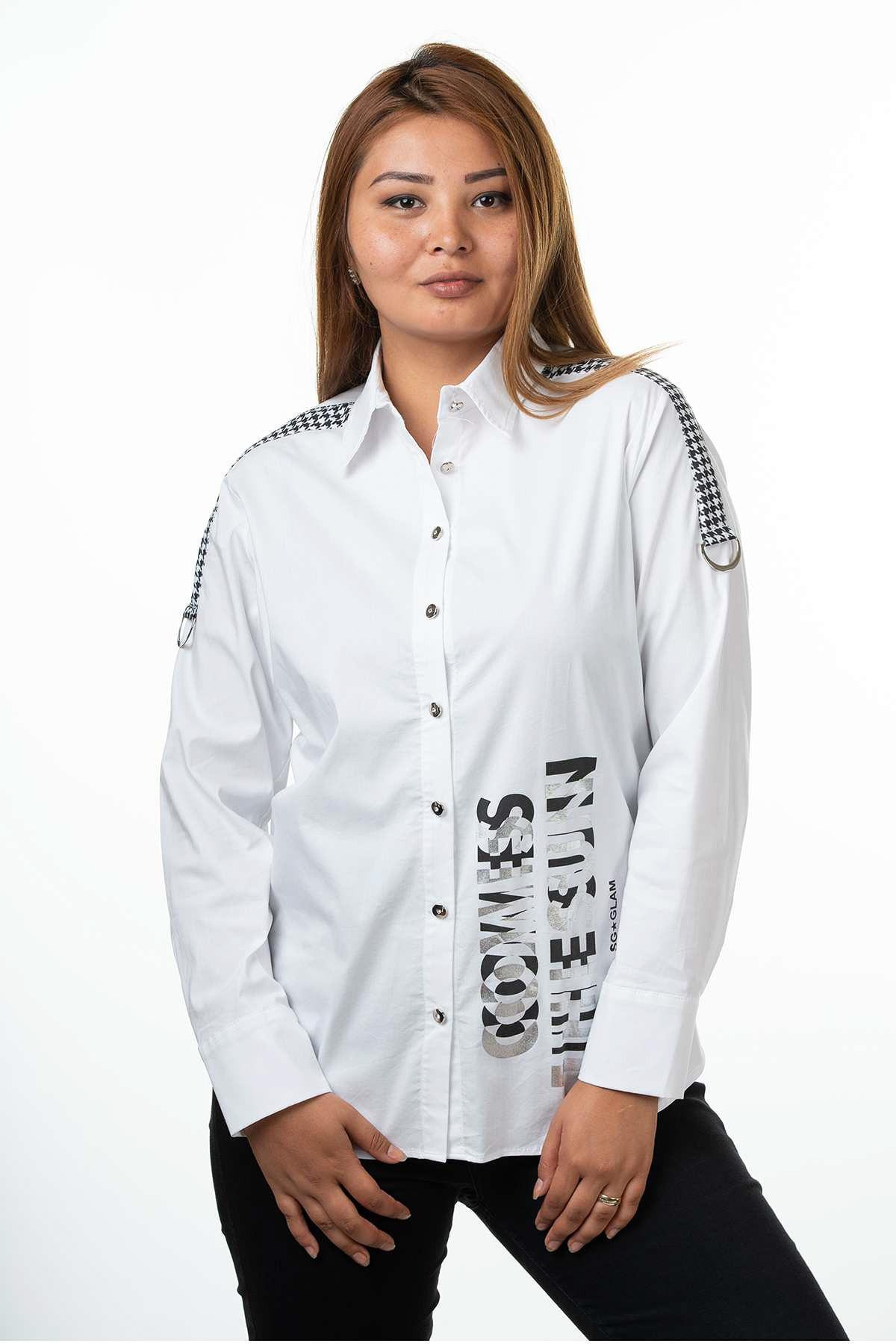 Sogo размера плюс женская блузка, рубашка, Женские топы и блузки, блузка женская, блузки, блузки, ка ЗКА женская, кофта