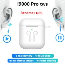 Original i9000 Pro TWS Bluetooth earphone 11 Air 2 Wireless Headphones Rename GPS Super bass Earbuds pk i30 i200 i500 i9000 tws