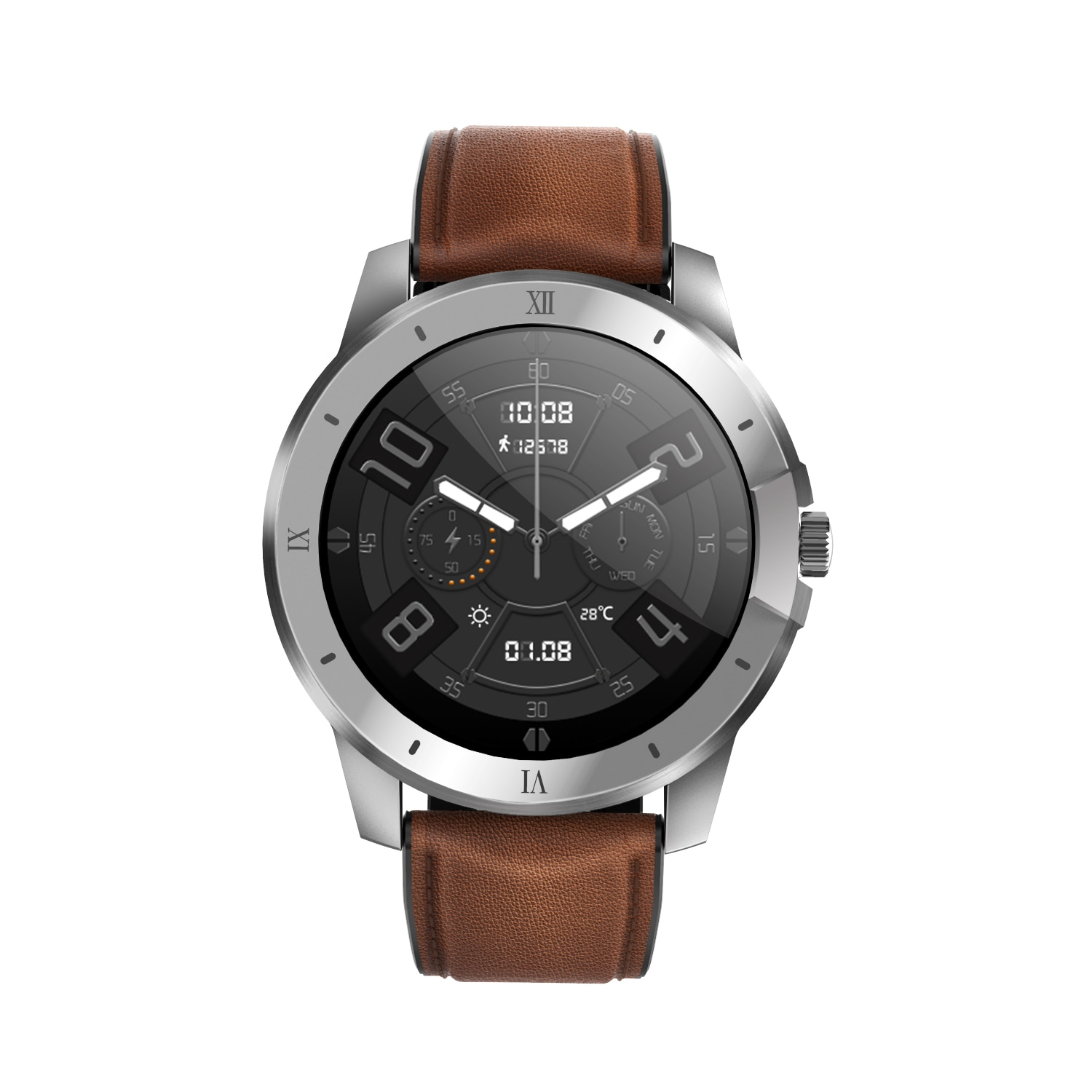 Fashion MX12 Men's And Women's Smart Watches, Local Bluetooth Music Playback, Call Information Synch