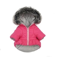 waterproof dog coat jacket winter dog clothes outfit puppy costume pomeranian poodle bichon schnauzer pet clothing dropshipping
