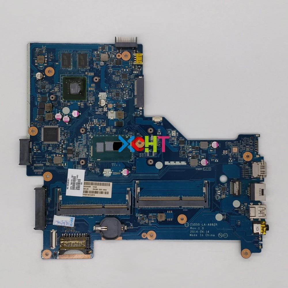 ل HP 15-R 15-S سلسلة 760970-501 760970-001 760970-601 ZSO50 LA-A992P w i5-4210U 2GB VRAM اللوحة اللوحة اختبار
