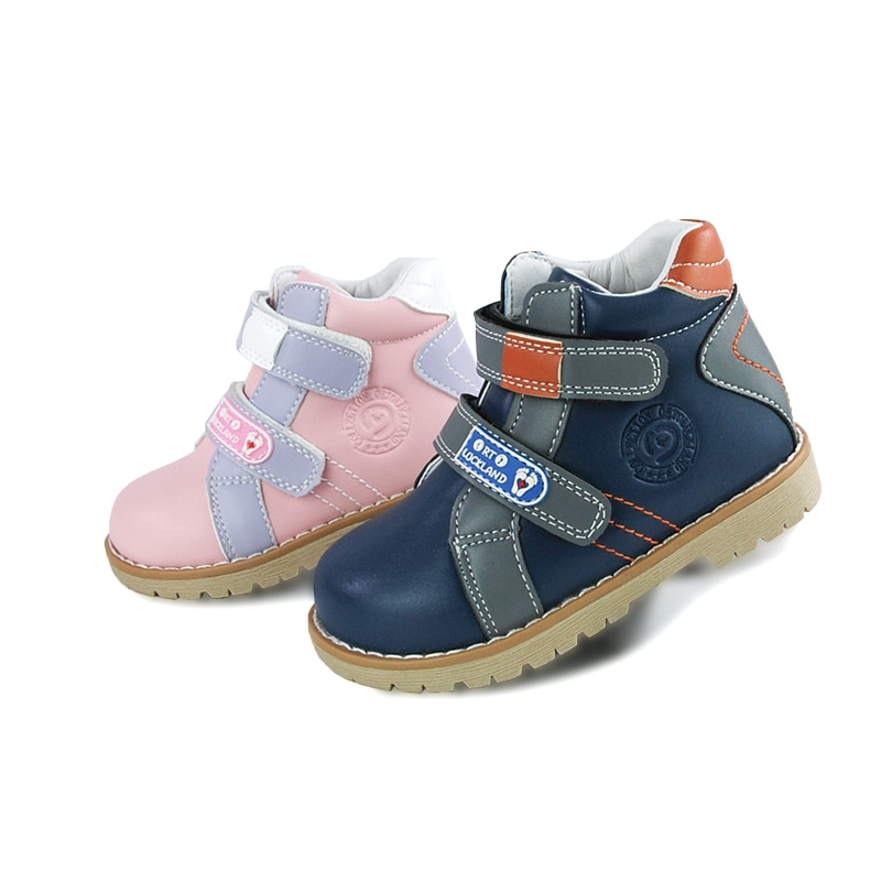 Children Casual Boot Baby Luxury Orthopedic Leather Shoes For Kids Boys Girls Fashion Spring Autumn Blue Pink Sport Bootie enlarge