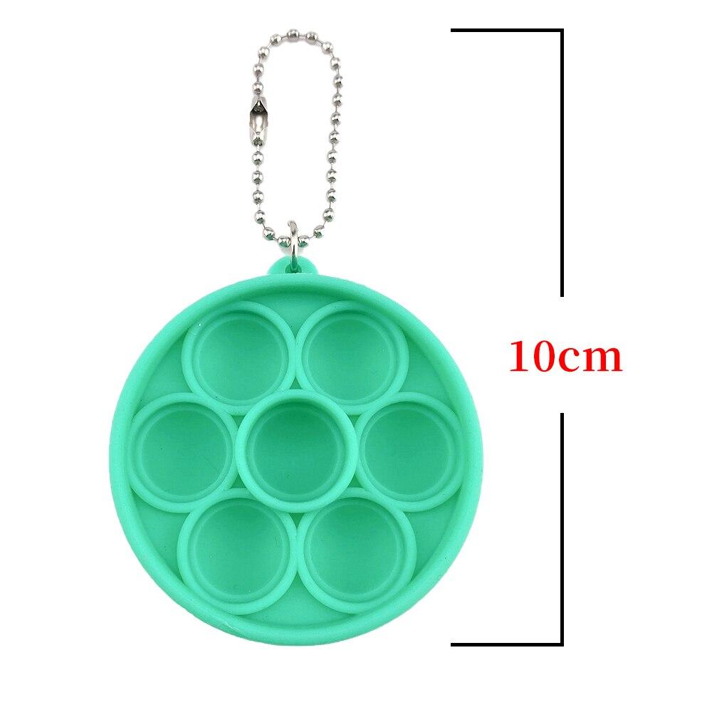 10/30Pcs Children Adult Simple Dimple Toys Mini Pop It Fidget Toys Anti Stress Fidget Toy Popit Stress Reliever Figet Toys enlarge