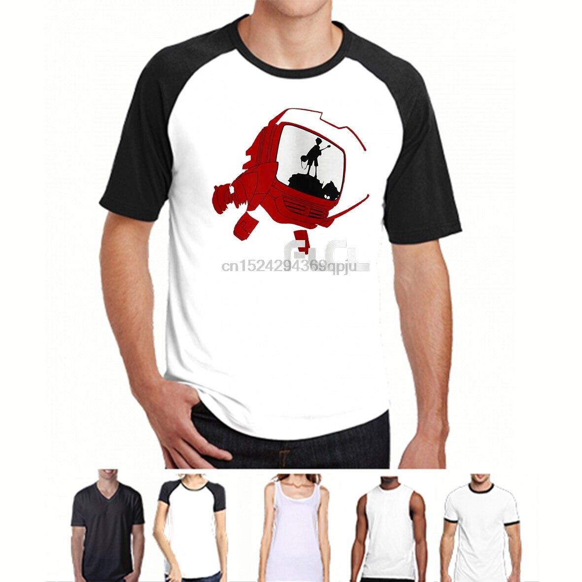 FLCL Lord Canti Fooly Cooly Camiseta de Manga de Anime nuevas camisetas divertidas camisetas nuevas Unisex divertidas Tops
