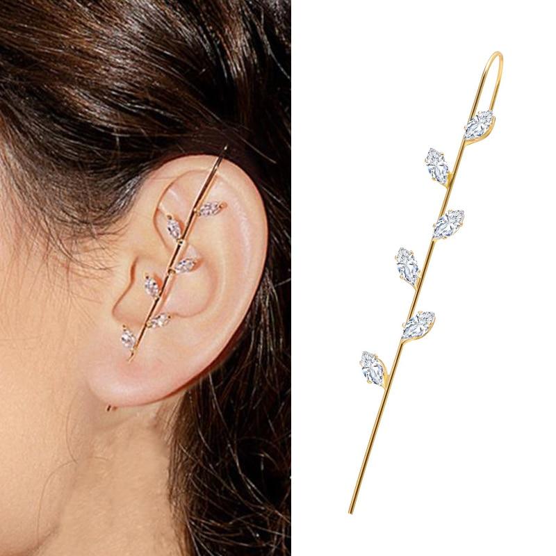 Cercei de nunta cu cârlig cu cârlig cercei cercei de cristal pentru - Bijuterii de moda - Fotografie 3