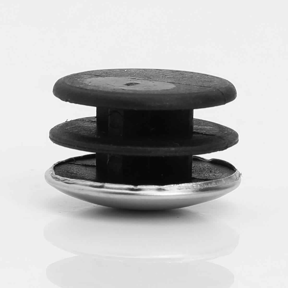 10 штепсельных труб из нержавеющей стали пластиковые трубки концевые колпачки круглые пылезащитные крышки домашний стол стул ноги Вставки колодки пол протектор оборудования-2