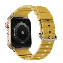 Pu 가죽 스트랩 애플 시계 밴드 42mm 팔찌 iwatch 시리즈 5 4 3 2 1 시계 밴드 팔찌 44mm 루프 40mm 38mm 교체