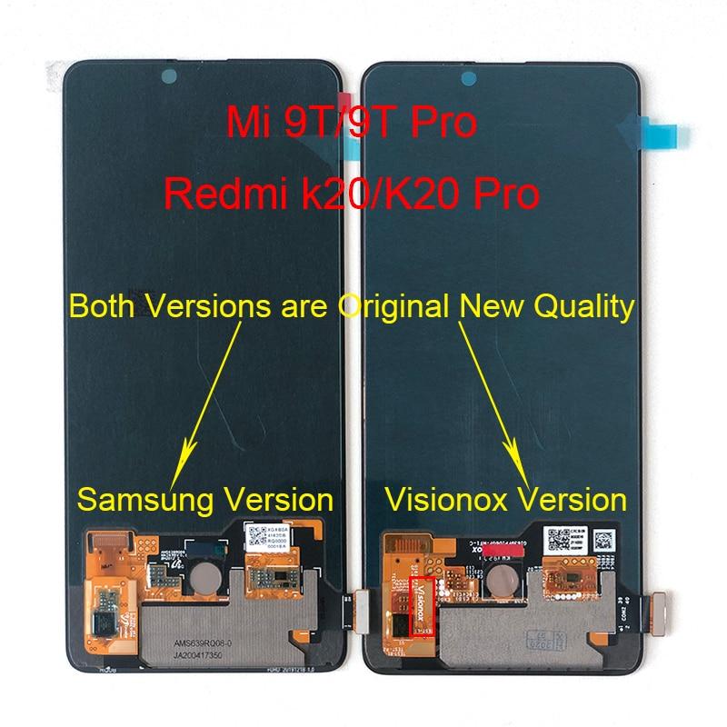 M & Sen-شاشة لمس LCD أصلية لهاتف Xiaomi Mi 9T AMOLED, شاشة AMOLED LCD أصلية 6.39 بوصة + محول رقمي للوحة اللمس لهاتف Redmi K20 K20 Pro LCD