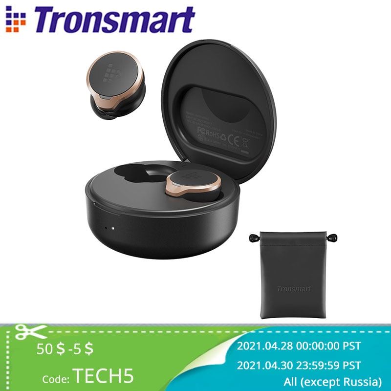 AliExpress - Tronsmart Apollo Bold TWS Earbuds ANC(Active Noise Cancelling) Bluetooth Wireless Earphones with QualcommChip QCC5124, Apt-X