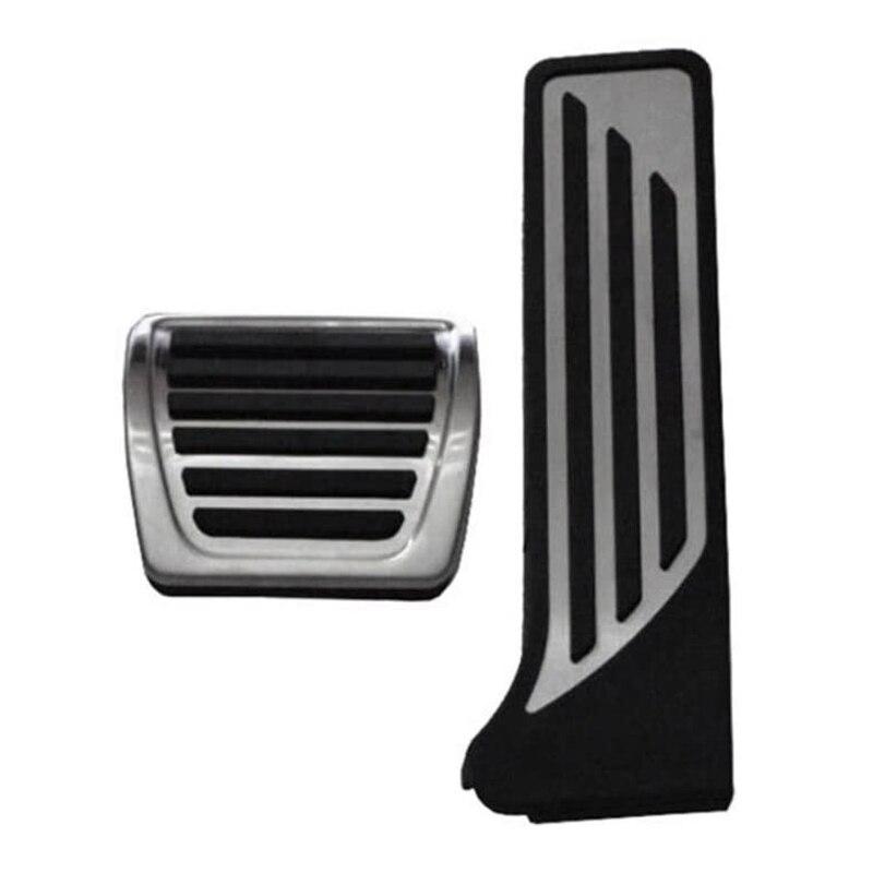 Brake Gas Brake Footrest Foot Pedal Cover Car Decoration Modified Accessory,for ALFA Romeo Giulia Stelvio 2Pcs