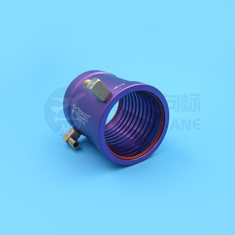 1PC B28 B36 Motor Cooling Jacket Aluminum Alloy Brushless Motors Water Cooled Sleeve//2850/2860/3674 Cooling Ring W M5 M4 Nozzle enlarge