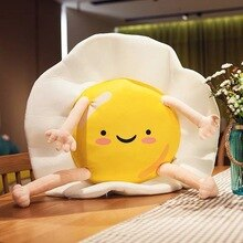 Baby Kid Speelgoed Pluche Animal Crossing Merch Ei Soft Gevulde Pluche Kussen Rugkussen Creatieve Kinderen Slaapkamer Decoratie Pop