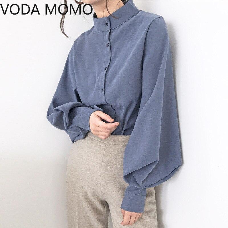summer long sleeve office women's shirt blouse for women blusas womens tops and blouses chiffon shir