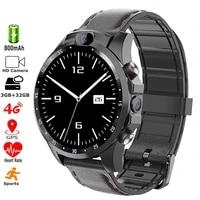 5mp dual cameras 4g smart watch wifi gps 32gb mt6739 quadcore 1 25ghz 800mah men waterproof sports fitness tracker smartwatch
