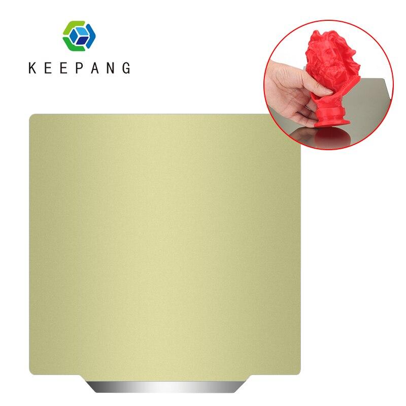 Nueva hoja de acero preaplicada PEI + Base magnética 220/235/310mm para impresora 3D piezas de impresora 3D