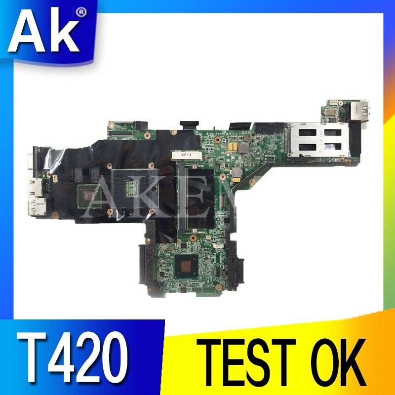 Para Lenovo ThinkPad T420 SWG placa base para portátil 63Y1997 04W1347 04W2049 63Y1812 63Y1705