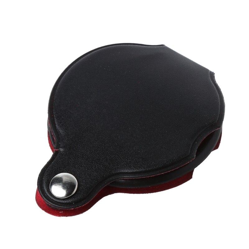 8X 50mm Mini bolsillo plegable joyería lupa lente de lupa A5YD