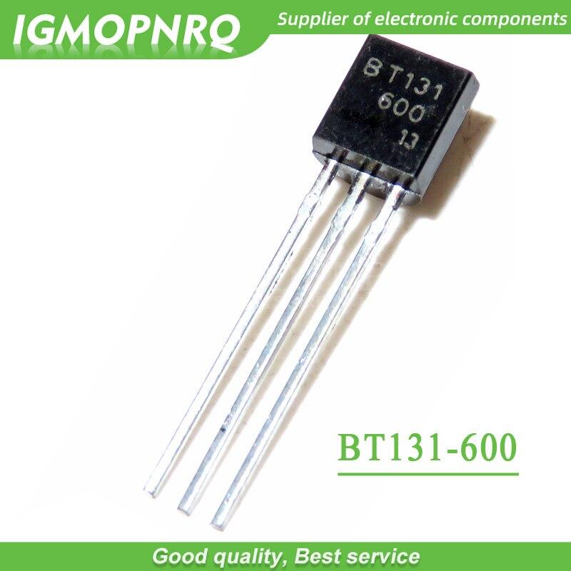 50pcs BT131-600 BT131 TO-92 Triacs 600V 1A nouveau original