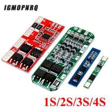 1S 2S 3S 4 4S 3A 20A 30A Li-Ion Batteria Al Litio 18650 Caricabatterie PCB BMS Bordo di Protezione per Motore del Trapano Lipo Cellulare Modulo