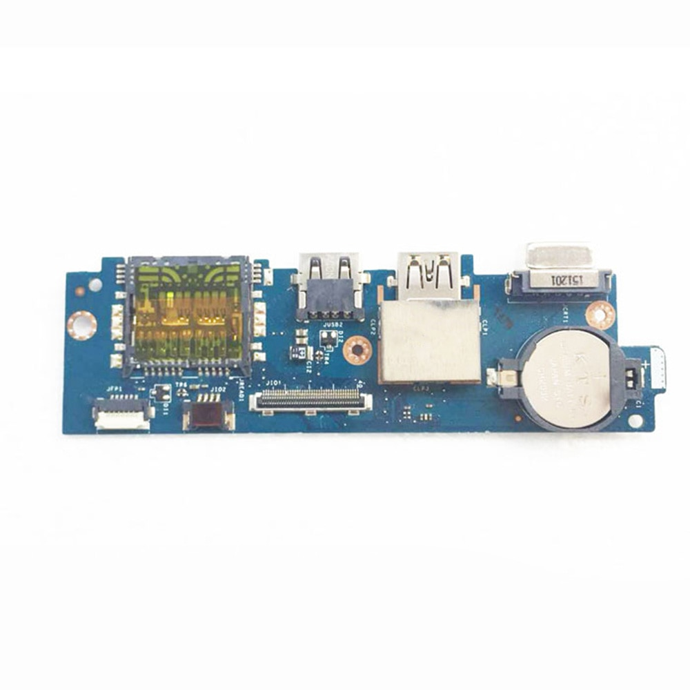 Original USB IO small board 04T5M8 4T5M8 LS-D821P For Dell Inspiron Vostro 15 5568 With IO cable USB cable