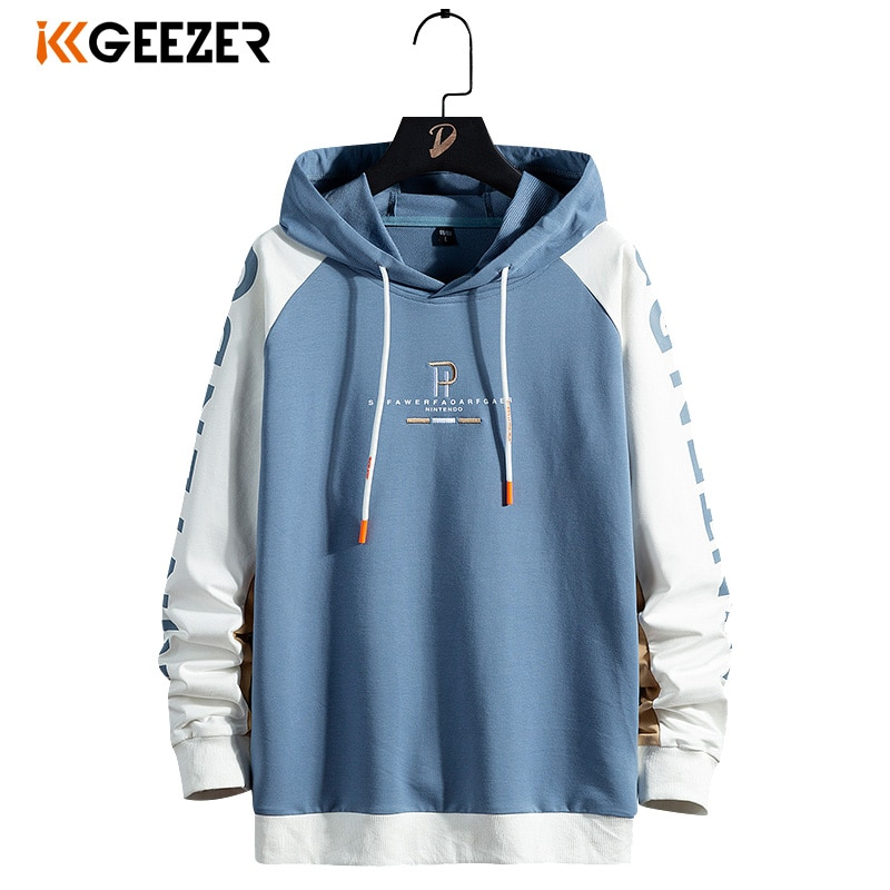 Hoodies moletom 68% algodão 5xl 6xl 7xl 8xl tamanho grande streetwear com capuz retalhos roupas esportivas masculino 2020 outono hip hop