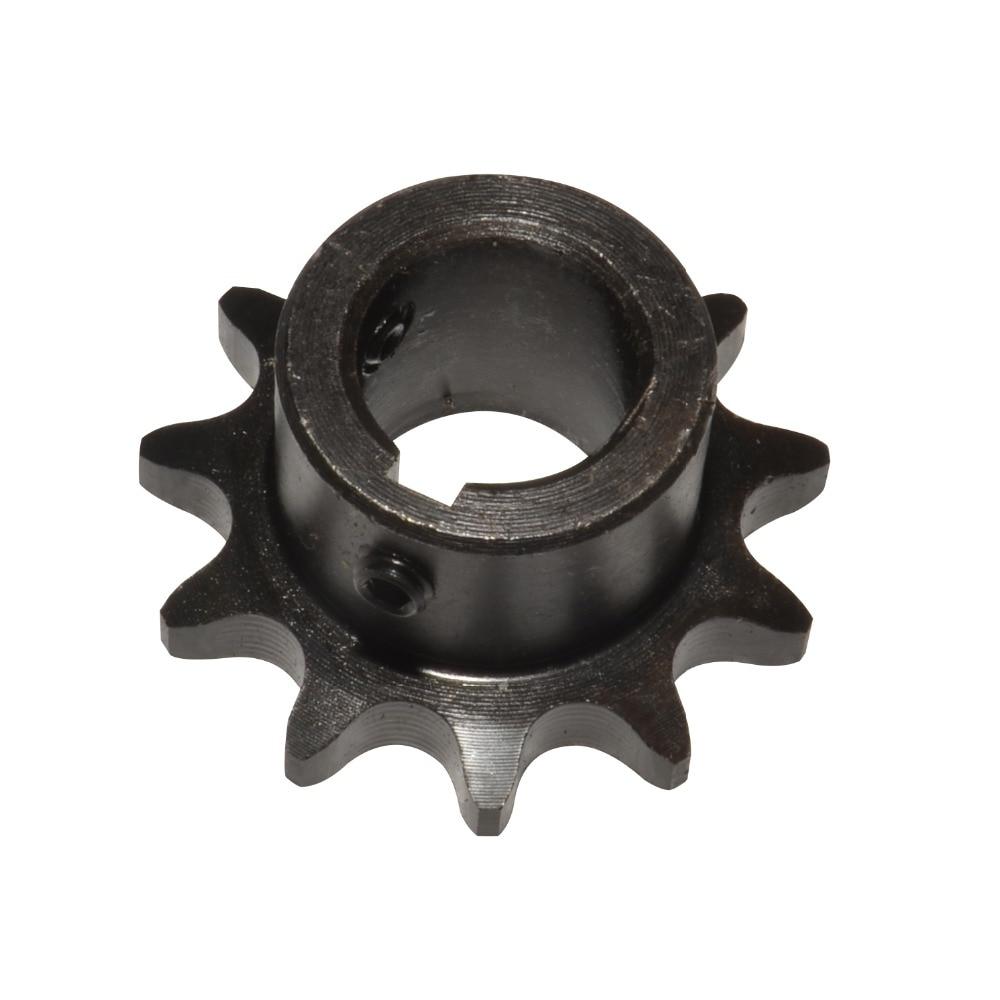 """#40 08A piñón de cadena 12 dientes agujero 5/8 """"3/4"""" Paso 1/2 """"con Keyway Inndustry transmisión GO Kart cadena de rodillos"""